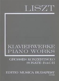 Franz Liszt - Sonate et autres pièces Série 1, Volume 5 - Partition - di-arezzo.fr