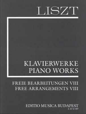 Franz Liszt - Transcriptions Diverses. (Série 2, Volume 8) - Partition - di-arezzo.fr