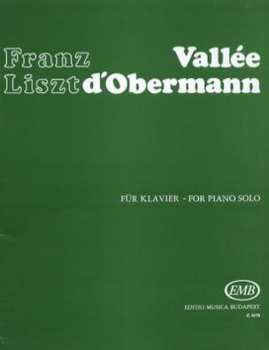 Vallée d'Obermann - LISZT - Partition - Piano - laflutedepan.com