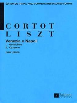 Venezia e Napoli - LISZT - Partition - Piano - laflutedepan.com