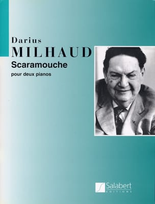 Scaramouche. 2 Pianos MILHAUD Partition Piano - laflutedepan