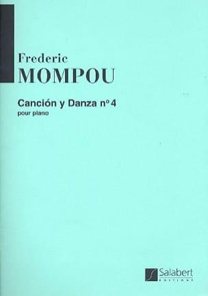 Federico Mompou - Cancion Y Danza N° 4. - Partition - di-arezzo.fr