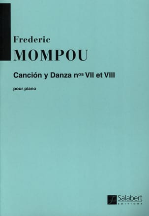 Federico Mompou - Cancion y danza N ° 7 and 8 - Sheet Music - di-arezzo.co.uk