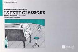 Le Petit Classique Marthe Morhange-Motchane Partition laflutedepan