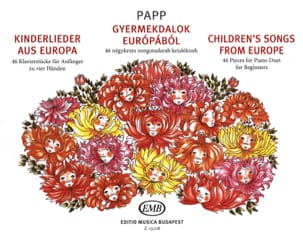 Children's Songs From Europe. 4 Mains Lajos Papp laflutedepan