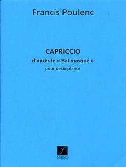 Francis Poulenc - Capriccio for 2 Pianos - Sheet Music - di-arezzo.co.uk