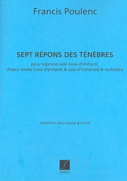 Francis Poulenc - 7 Repons of darkness - Sheet Music - di-arezzo.com