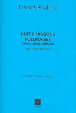 Francis Poulenc - 8 Chansons polonaises - Partition - di-arezzo.fr