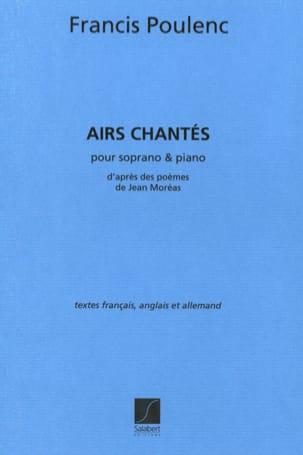 Francis Poulenc - 4 Airs Chantés - Partition - di-arezzo.fr