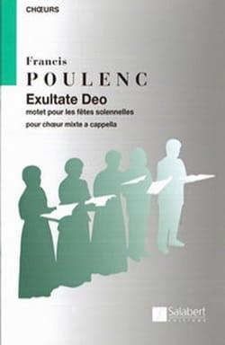 Francis Poulenc - Exultate Deo - Partition - di-arezzo.fr