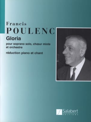 Francis Poulenc - Gloria - Partition - di-arezzo.co.uk