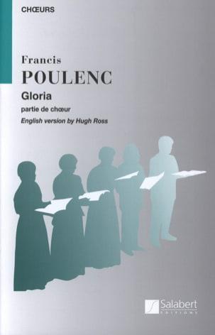 Francis Poulenc - Gloria. Choeur. - Partition - di-arezzo.fr