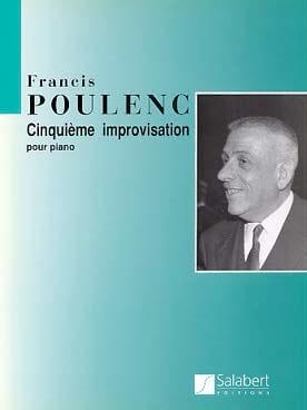 Francis Poulenc - Improvisation N° 5 - Partition - di-arezzo.fr