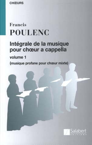 Francis Poulenc - Complete Choral Music A Cappella. Volume 1 - Sheet Music - di-arezzo.co.uk