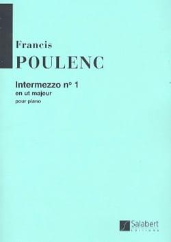 Francis Poulenc - Intermezzo N° 1 - Partition - di-arezzo.fr