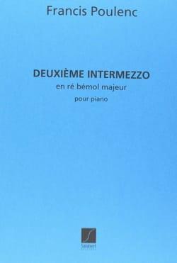 Francis Poulenc - Intermezzo N° 2 - Partition - di-arezzo.fr