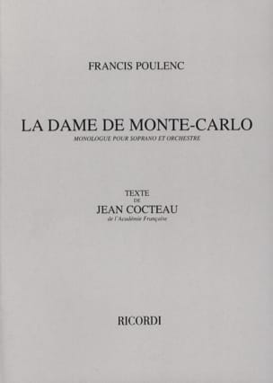 Francis Poulenc - The Lady of Monte Carlo - Sheet Music - di-arezzo.co.uk