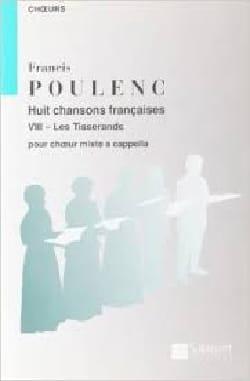 Francis Poulenc - Les Tisserands - Partition - di-arezzo.fr