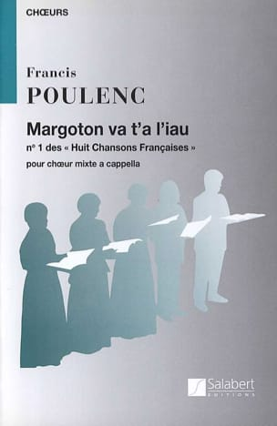 Francis Poulenc - Margoton va t'a liau - Partition - di-arezzo.fr