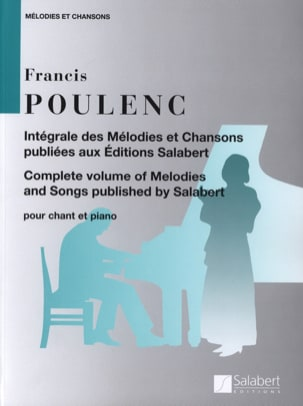 Francis Poulenc - Complete Melodies and Songs - Sheet Music - di-arezzo.co.uk