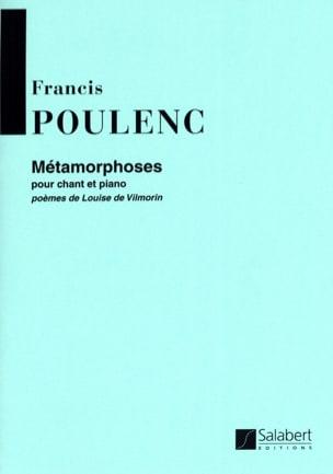 Francis Poulenc - metamorphoses - Partition - di-arezzo.co.uk