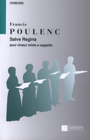 Salve Regina POULENC Partition Chœur - laflutedepan