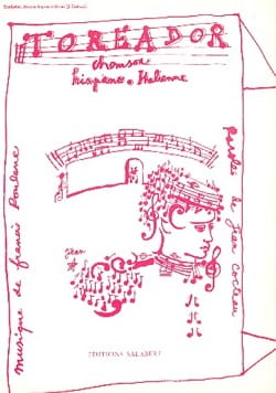 Francis Poulenc - Toreador - Partition - di-arezzo.fr