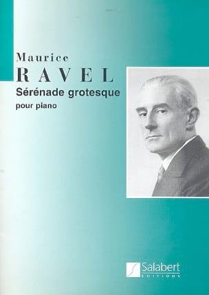 Maurice Ravel - Sérénade grotesque - Partition - di-arezzo.fr