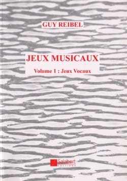 Guy Reibel - Jeux Vocaux - Sheet Music - di-arezzo.co.uk