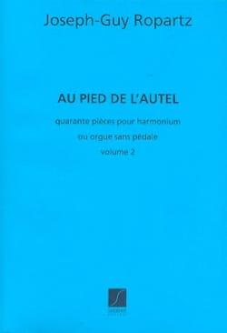 Guy Ropartz - Au Pied de L'autel, Série N° 2 - Partition - di-arezzo.fr