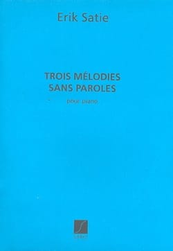 Erik Satie - 3 Melodies Without Words - Sheet Music - di-arezzo.com
