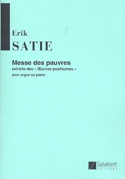 Erik Satie - Messe des pauvres - Partition - di-arezzo.fr