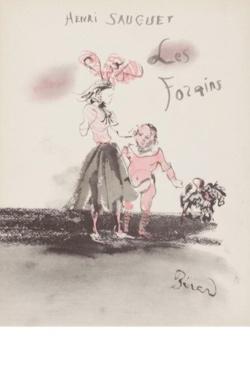 Henri Sauguet - Les Forains - Partition - di-arezzo.fr