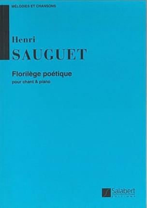 Henri Sauguet - Florilège Poétique - Partition - di-arezzo.fr