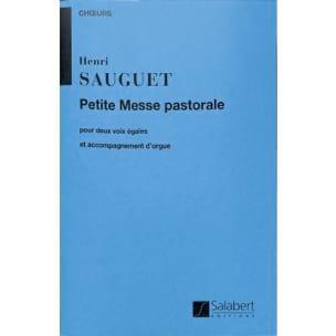 Petite messe pastorale Henri Sauguet Partition Chœur - laflutedepan