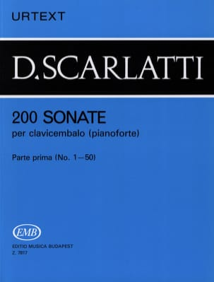 Domenico Scarlatti - Sonates, Volume 1 - Partition - di-arezzo.fr