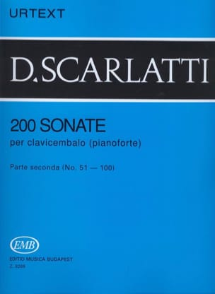 Domenico Scarlatti - Sonatas. Volume 2 - Sheet Music - di-arezzo.co.uk
