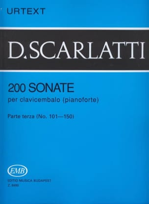Domenico Scarlatti - Sonatas, Volume 3 - Sheet Music - di-arezzo.com