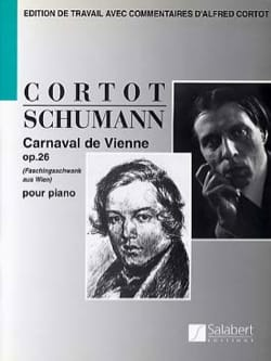 SCHUMANN - Vienna Carnival Opus 26 - Sheet Music - di-arezzo.co.uk