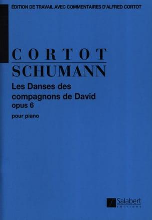 Robert Schumann - Danses des Compagnons de David Opus 6 - Partition - di-arezzo.fr