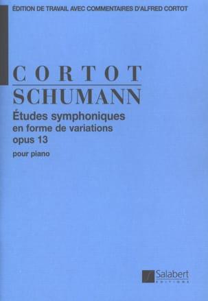 Robert Schumann - Etudes Symphoniques Opus 13 - Partition - di-arezzo.fr