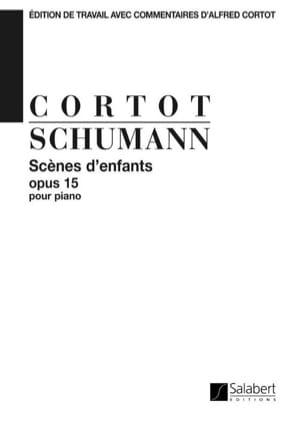 SCHUMANN - Scènes D'enfants, Opus 15. - Partition - di-arezzo.fr