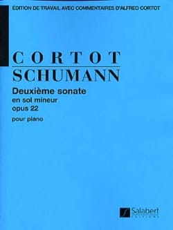 Robert Schumann - Sonate N° 2 en Sol Mineur Opus 22 - Partition - di-arezzo.fr