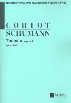Robert Schumann - Toccata Opus 7 - Partition - di-arezzo.fr