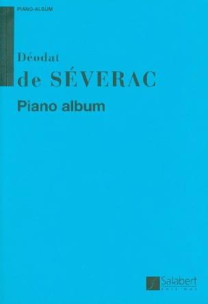 Déodat de Séverac - Piano Album - Partition - di-arezzo.fr