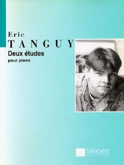 2 Etudes Eric Tanguy Partition Piano - laflutedepan