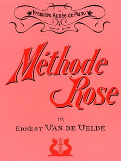 VAN DE VELDE - Méthode Rose - Sheet Music - di-arezzo.co.uk