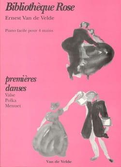 VAN DE VELDE - Premières Danses - Partition - di-arezzo.fr