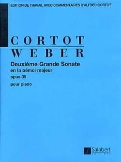 Grande Sonate N° 2 Opus 39 Carl Maria von Weber laflutedepan