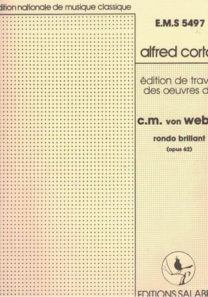 Carl Maria von Weber - Rondo Brillant Op. 62 En Mi Bémol Majeur - Partition - di-arezzo.fr